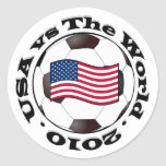 USA vs The World 2010 Stickers
