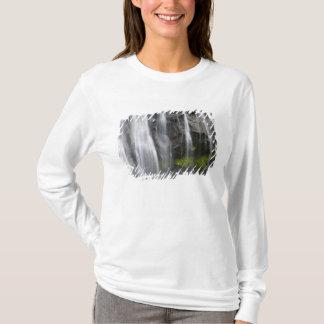 USA, WA, Mt. Rainier NP, Narada Falls T-Shirt