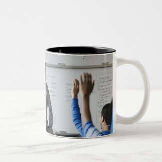 USA, WA, Seattle Two-Tone Coffee Mug