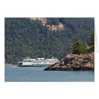 USA, WA. Washington State Ferries Card