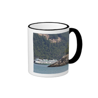 USA, WA. Washington State Ferries Coffee Mug
