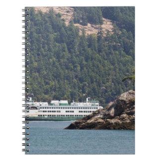 USA, WA. Washington State Ferries Note Books