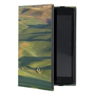 USA, WA, Whitman Co., Palouse Farm Fields From iPad Mini Cover