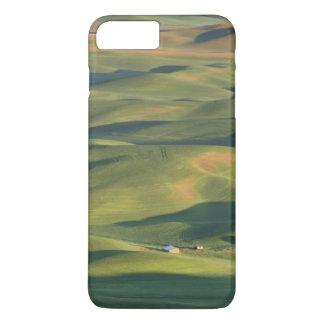 USA, WA, Whitman Co., Palouse Farm Fields From iPhone 8 Plus/7 Plus Case