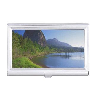 USA, Washington, Beacon Rock State Park, Beacon Business Card Holder
