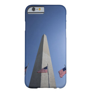 USA, Washington, D.C. American flags at the Barely There iPhone 6 Case