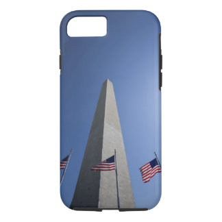 USA, Washington, D.C. American flags at the iPhone 7 Case