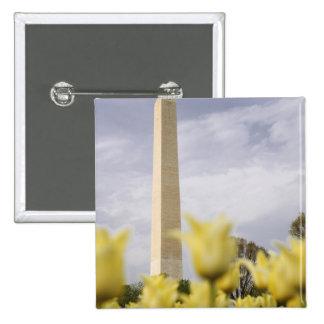 USA, Washington, D.C. The Washington Monument as Buttons