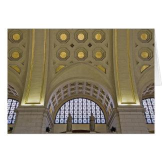 USA, Washington, D.C. View of ceiling Card