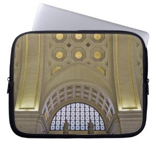 USA, Washington, D.C. View of ceiling Laptop Sleeve