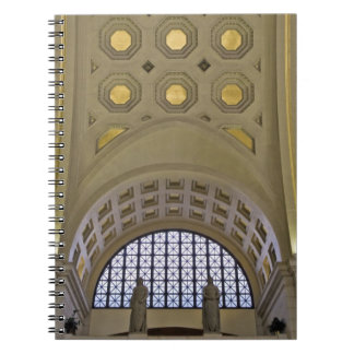 USA, Washington, D.C. View of ceiling Notebook