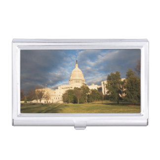 USA, Washington DC, Capitol building Business Card Holder