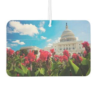 USA, Washington DC, Capitol Building Car Air Freshener