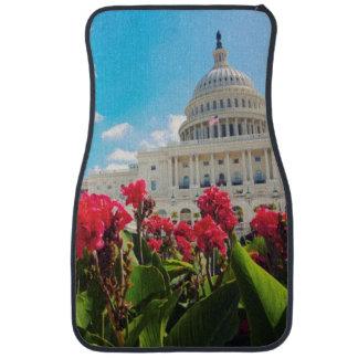 USA, Washington DC, Capitol Building Car Mat