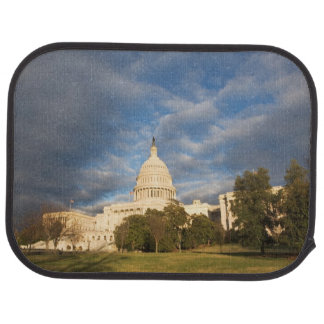 USA, Washington DC, Capitol building Car Mat