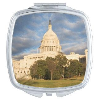 USA, Washington DC, Capitol building Compact Mirror
