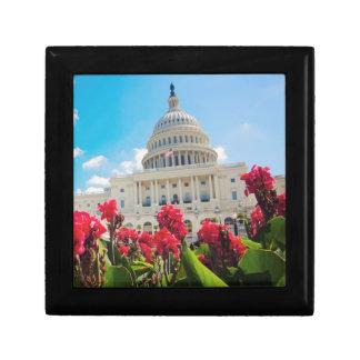 USA, Washington DC, Capitol Building Gift Box