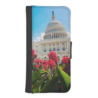 USA, Washington DC, Capitol Building iPhone SE/5/5s Wallet Case