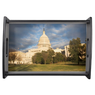 USA, Washington DC, Capitol building Serving Tray
