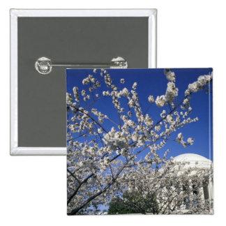 USA, Washington DC. Cherry Blossom Festival and 2 15 Cm Square Badge