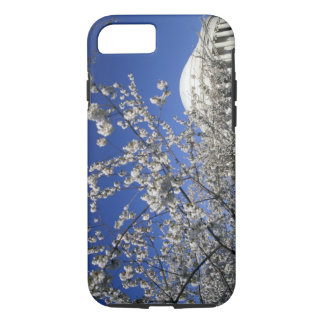 USA, Washington DC. Cherry Blossom Festival and 2 iPhone 8/7 Case