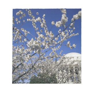 USA, Washington DC. Cherry Blossom Festival and 2 Notepad