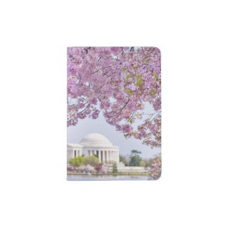 USA, Washington DC, Cherry tree in bloom Passport Holder