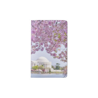USA, Washington DC, Cherry tree in bloom Pocket Moleskine Notebook