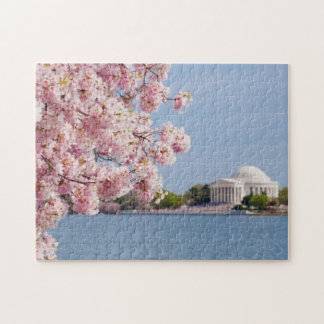 USA, Washington DC, Cherry tree Jigsaw Puzzle