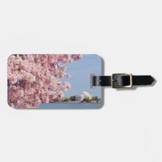 USA, Washington DC, Cherry tree Luggage Tag