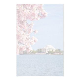 USA, Washington DC, Cherry tree Personalised Stationery