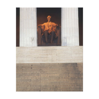 USA, Washington Dc, Lincoln Memorial Canvas Print