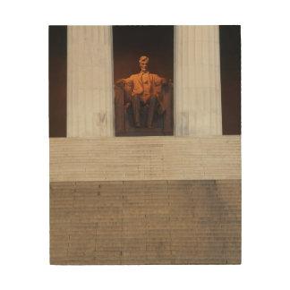 USA, Washington Dc, Lincoln Memorial Wood Print
