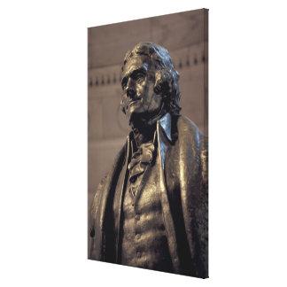 USA, Washington DC. Thomas Jefferson Memorial. Canvas Print