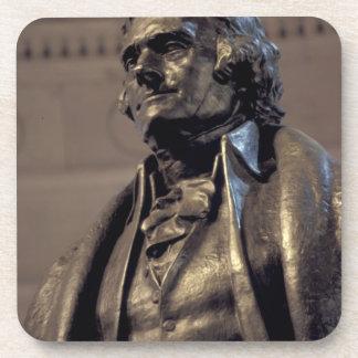 USA, Washington DC. Thomas Jefferson Memorial. Drink Coaster