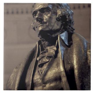 USA, Washington DC. Thomas Jefferson Memorial. Large Square Tile