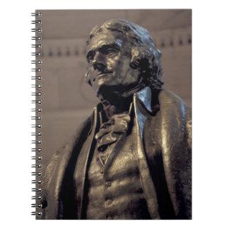 USA, Washington DC. Thomas Jefferson Memorial. Notebook