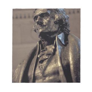 USA, Washington DC. Thomas Jefferson Memorial. Notepads