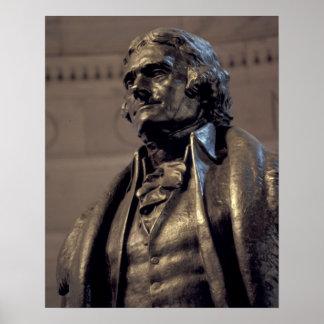 USA, Washington DC. Thomas Jefferson Memorial. Poster
