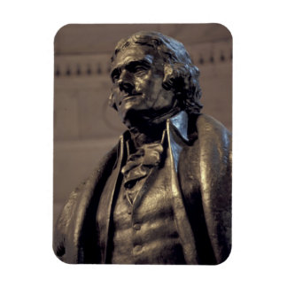 USA, Washington DC. Thomas Jefferson Memorial. Rectangular Photo Magnet
