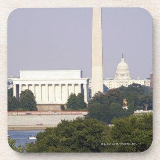 USA, Washington DC, Washington Monument and US Coaster