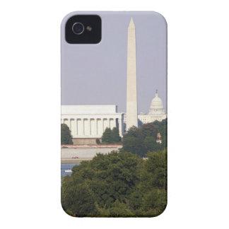 USA, Washington DC, Washington Monument and US iPhone 4 Case-Mate Cases
