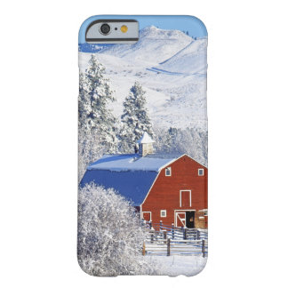 USA, Washington, Methow Valley, Barns in Barely There iPhone 6 Case
