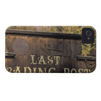 USA, Washington, Methow Valley, Winthrop Old iPhone 4 Case-Mate Cases