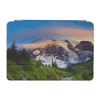 USA, Washington, Mt. Rainier. Morning sun iPad Mini Cover