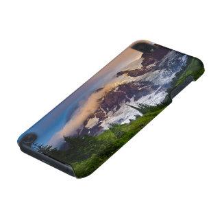 USA, Washington, Mt. Rainier. Morning sun iPod Touch (5th Generation) Cover