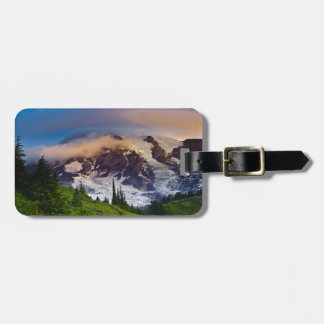 USA, Washington, Mt. Rainier. Morning sun Luggage Tag