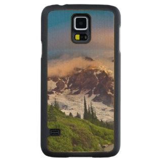 USA, Washington, Mt. Rainier. Morning sun Maple Galaxy S5 Slim Case