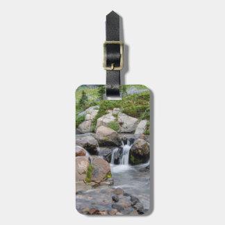 USA, Washington, Mt. Rainier National Park 3 Travel Bag Tags