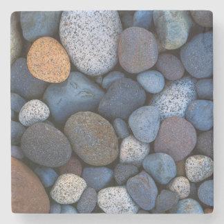 USA, Washington, Mt. Rainier National Park Stone Beverage Coaster